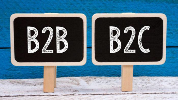 B2B и B2C: виды, отличия, схемы